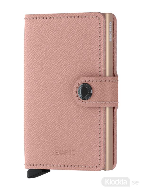 Plånbok SECRID Miniwallet Crisple Rose