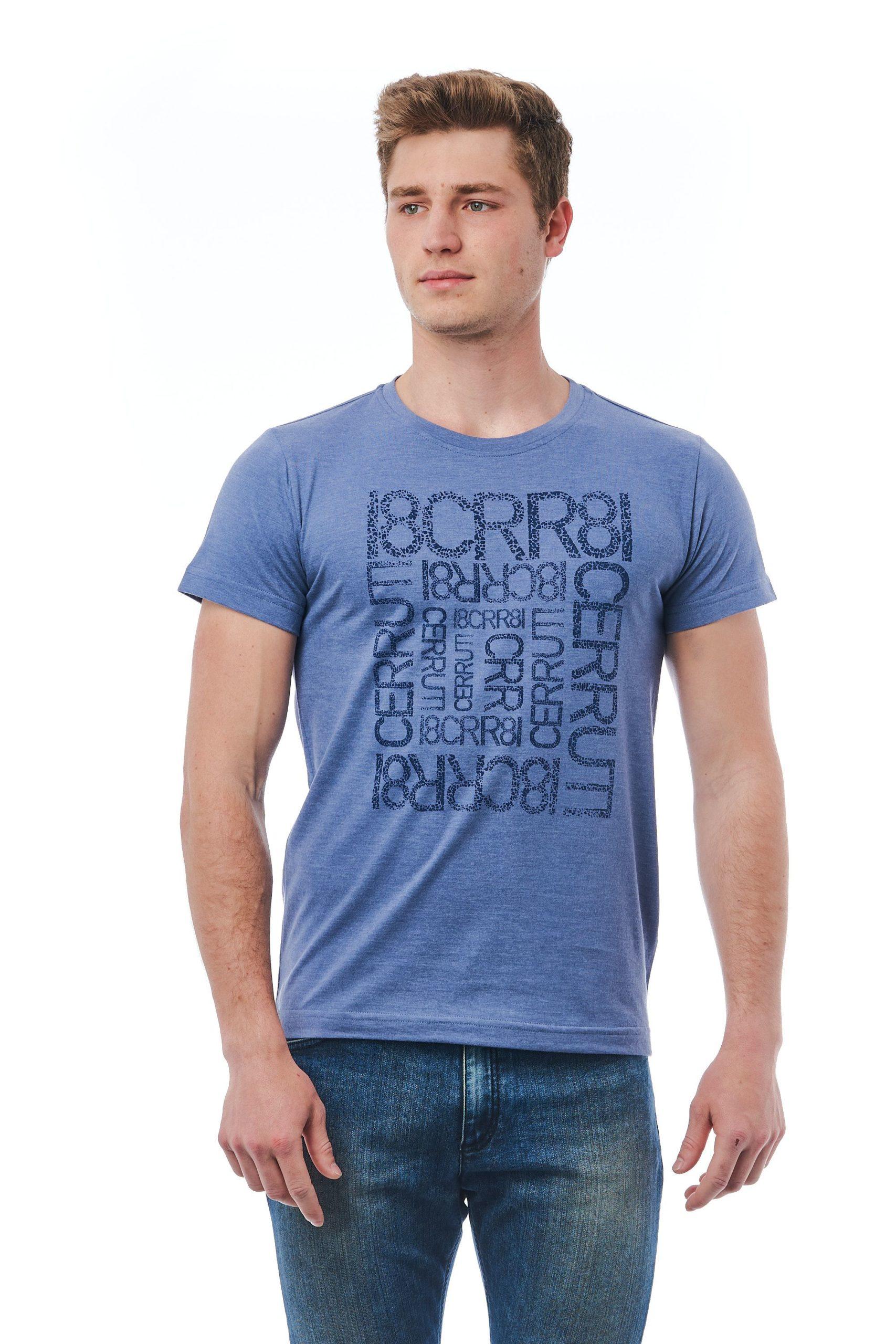 Cerruti 1881 Men's Avio T-Shirt Blue CE1409967 - M