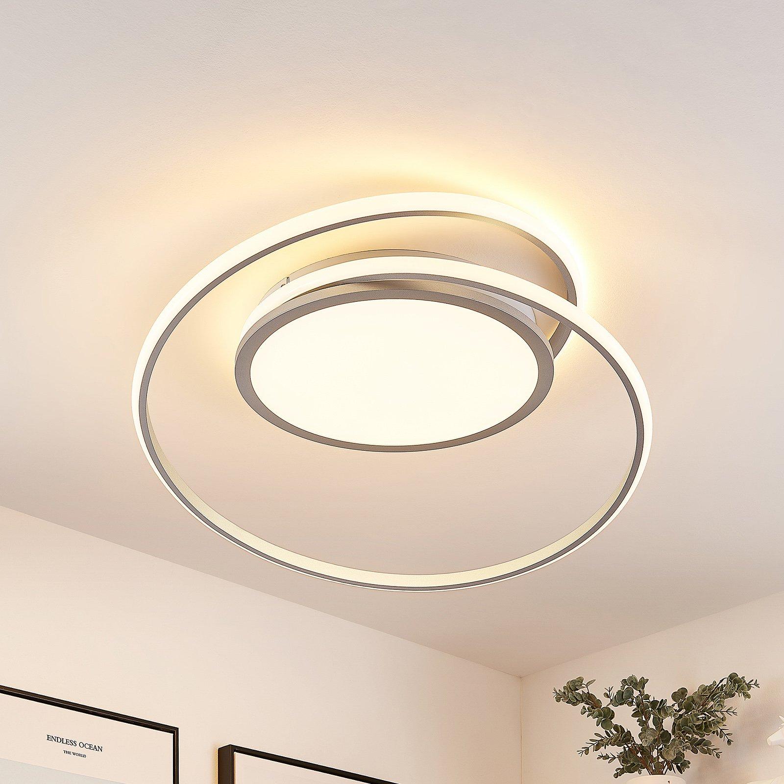 Lucande Noud LED-taklampe, CCT