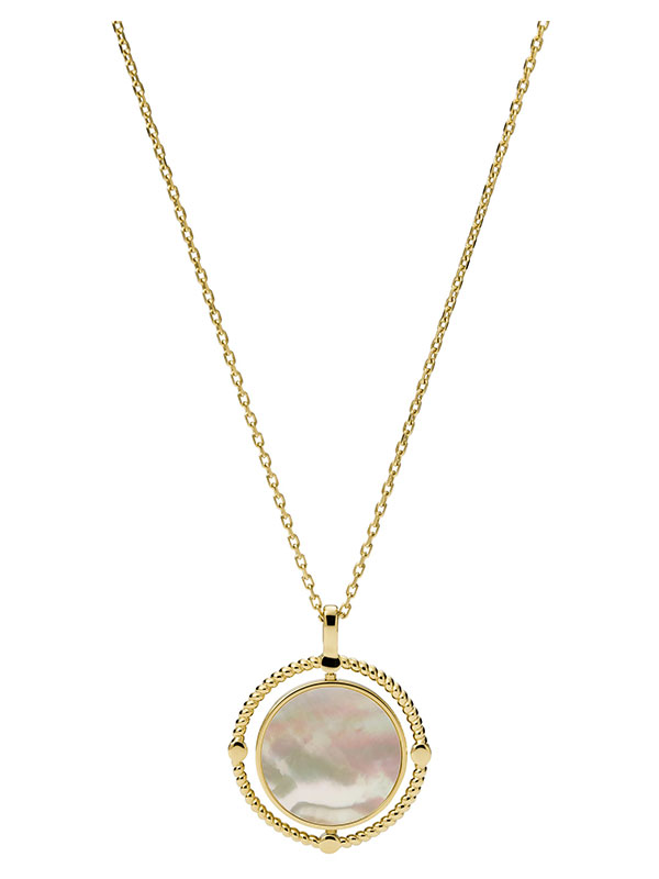 FOSSIL Halsband Val - Guld JF03800710
