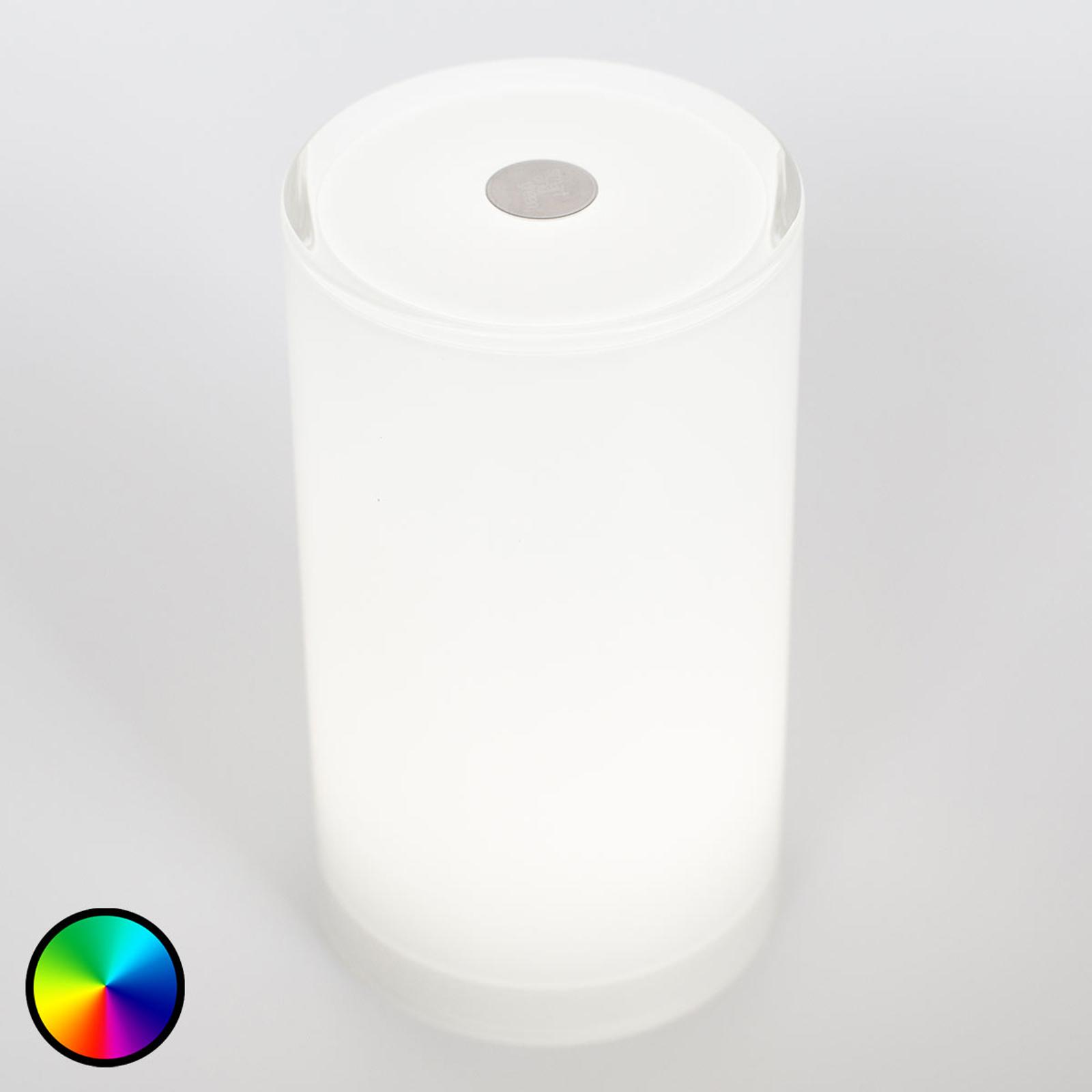 Langaton Tub-pöytävalaisin, sovellusohjaus, RGBW