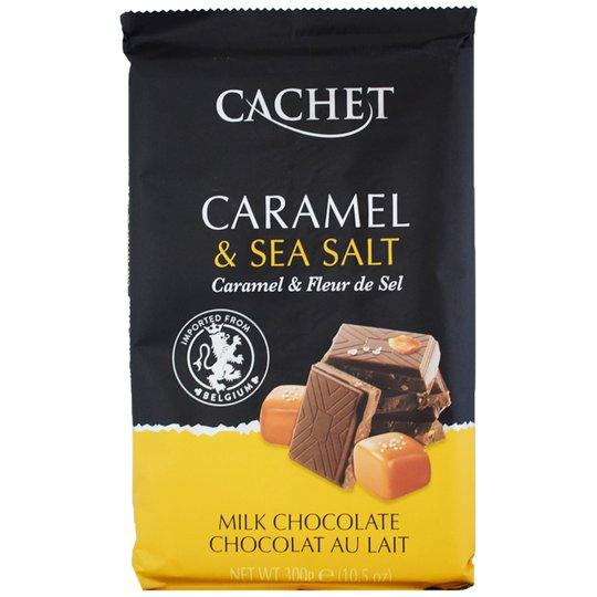 """Mjölkchoklad """"Caramel & Sea Salt"""" 300g - 71% rabatt"""