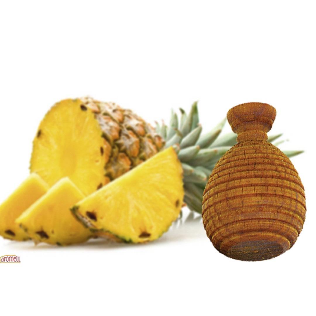 Doftboll i trä - Ananas