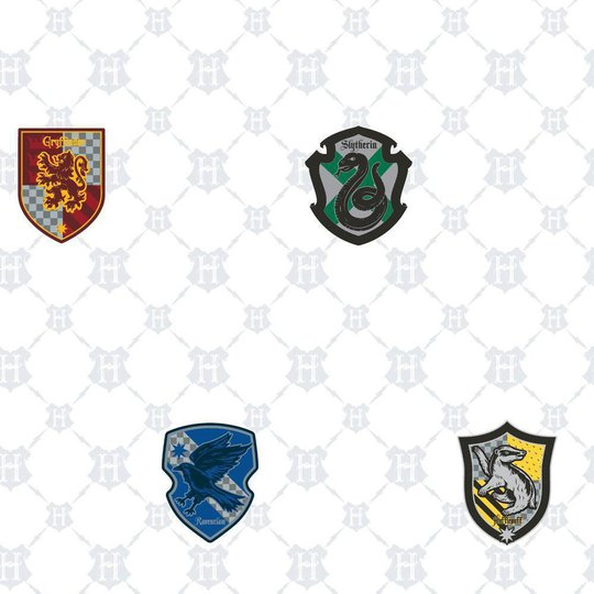 RoomMates Wallstickers Harry Potter House