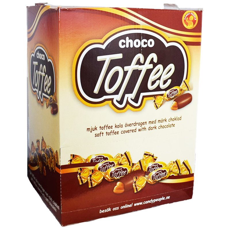 Godis Choco Toffee - 48% rabatt
