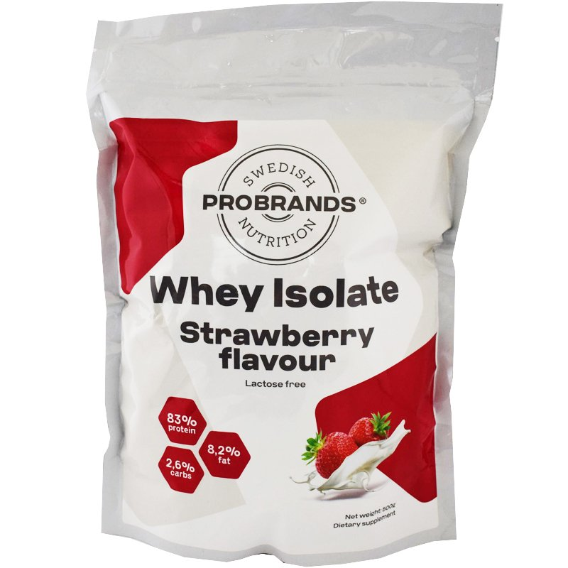 100% Whey Isolate Jordgubb - 41% rabatt