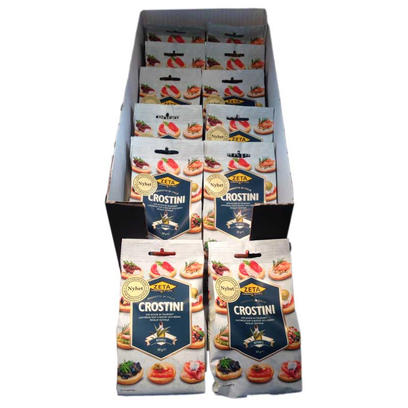 Hel Låda Crostini naturell - 64% rabatt