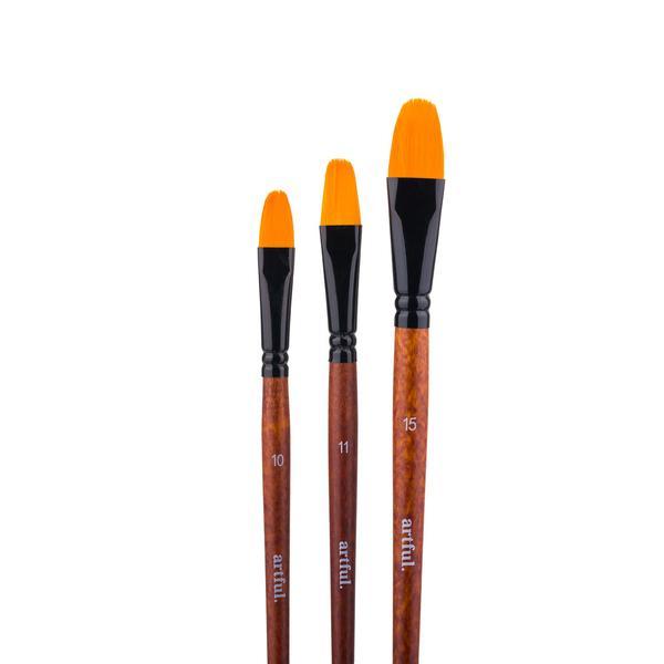 Artful Paint Brushes - Filbert