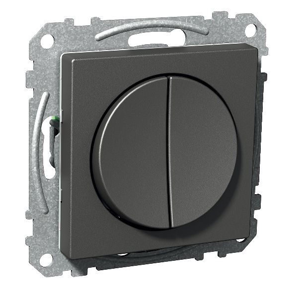 Schneider Electric Exxact Strømstiller antrasitt, IP20 Kronevender