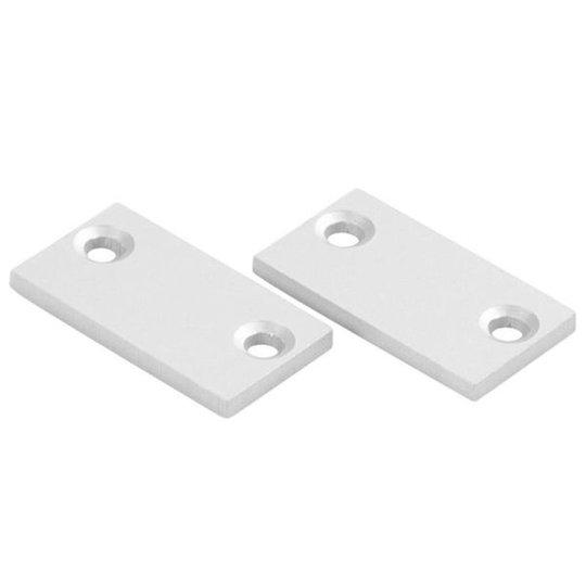 Hide-a-Lite Gavel Lean Päätykappale alumiinia, 2 kpl/pakkaus Matala