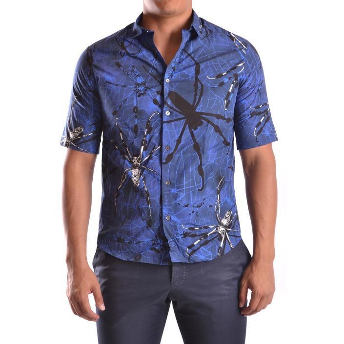 Alexander Mcqueen Men's Shirt Blue 162154 - blue 46