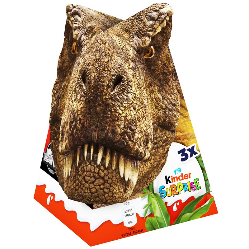 Kinder Surprise Jurassic - 29% rabatt