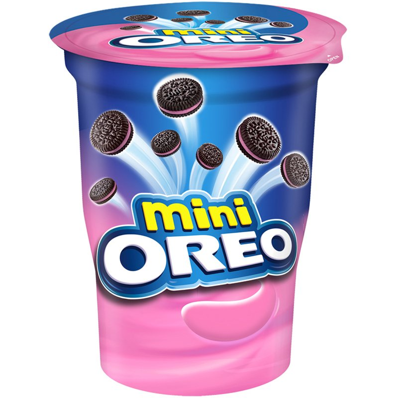 "Keksit ""Oreo Mini Strawberry"" 67 g - 50% alennus"