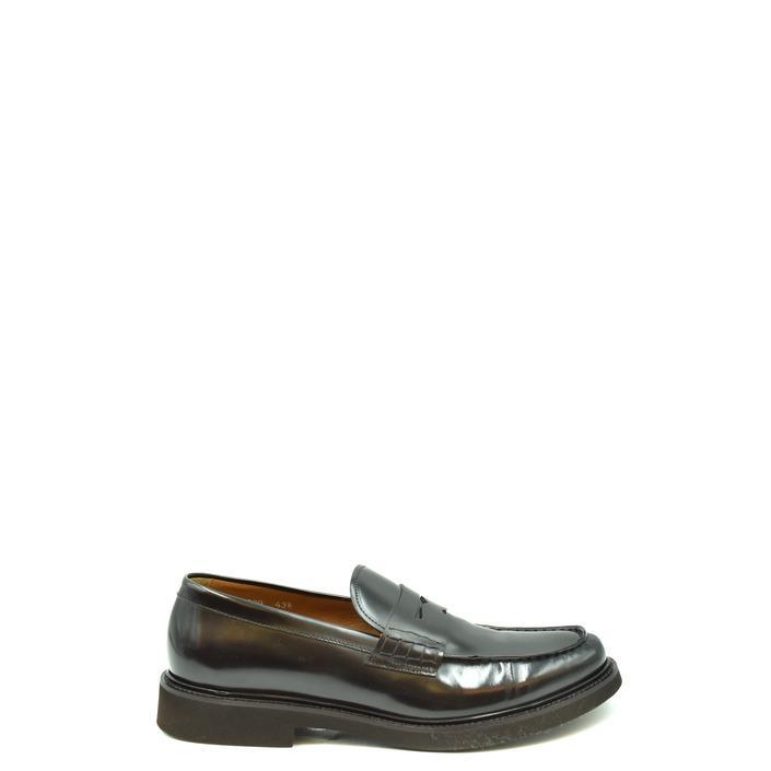 Doucal's Men's Loafer Brown 205288 - brown 41.5