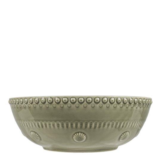 PotteryJo - Daisy Salladsskål 23 cm Faded Army