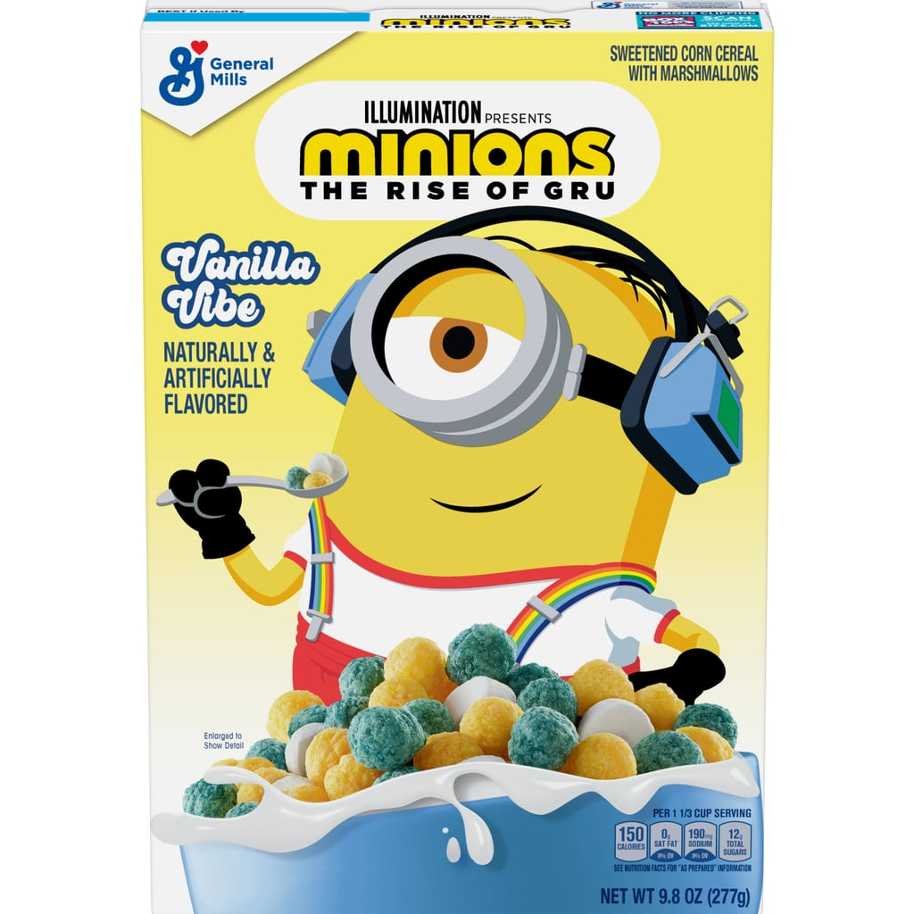 Minions Vanilla Vibe Cereal 277g