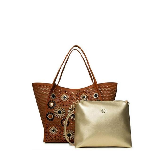Desigual - Desigual Women Bag - brown UNICA