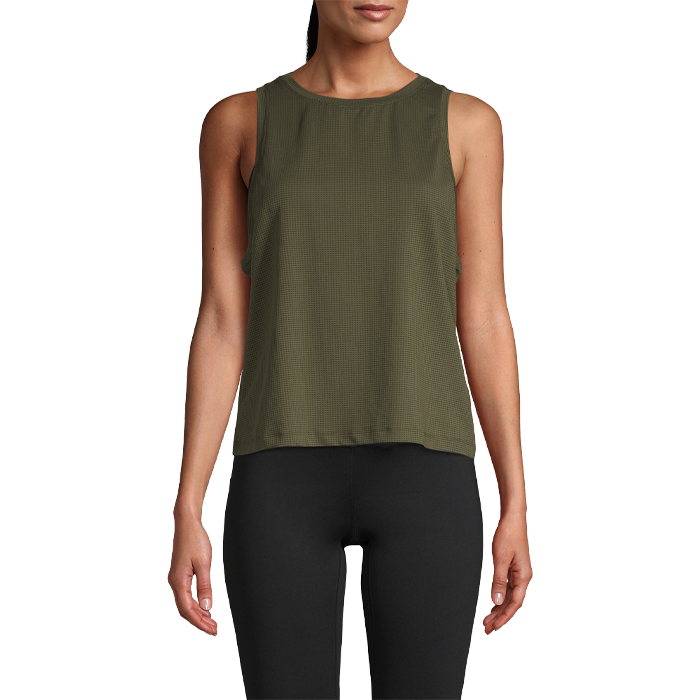 Iconic Loose Tank, Forest Green