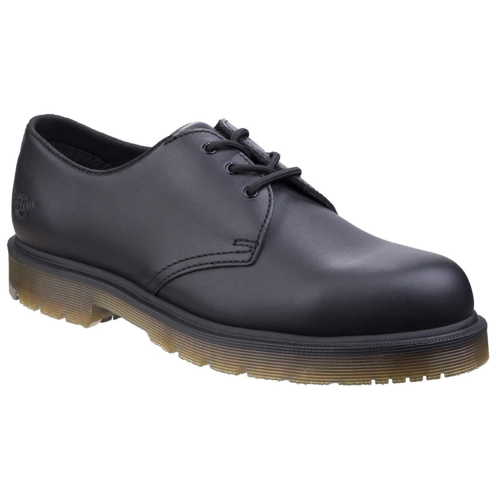 Dr Martens Men's Arlington NS Derby Shoe Black 26781 - Black Industrial Full Grain 8