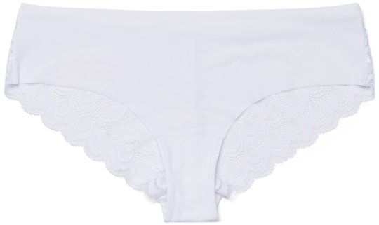 Milki Hipster 2-pack, White S