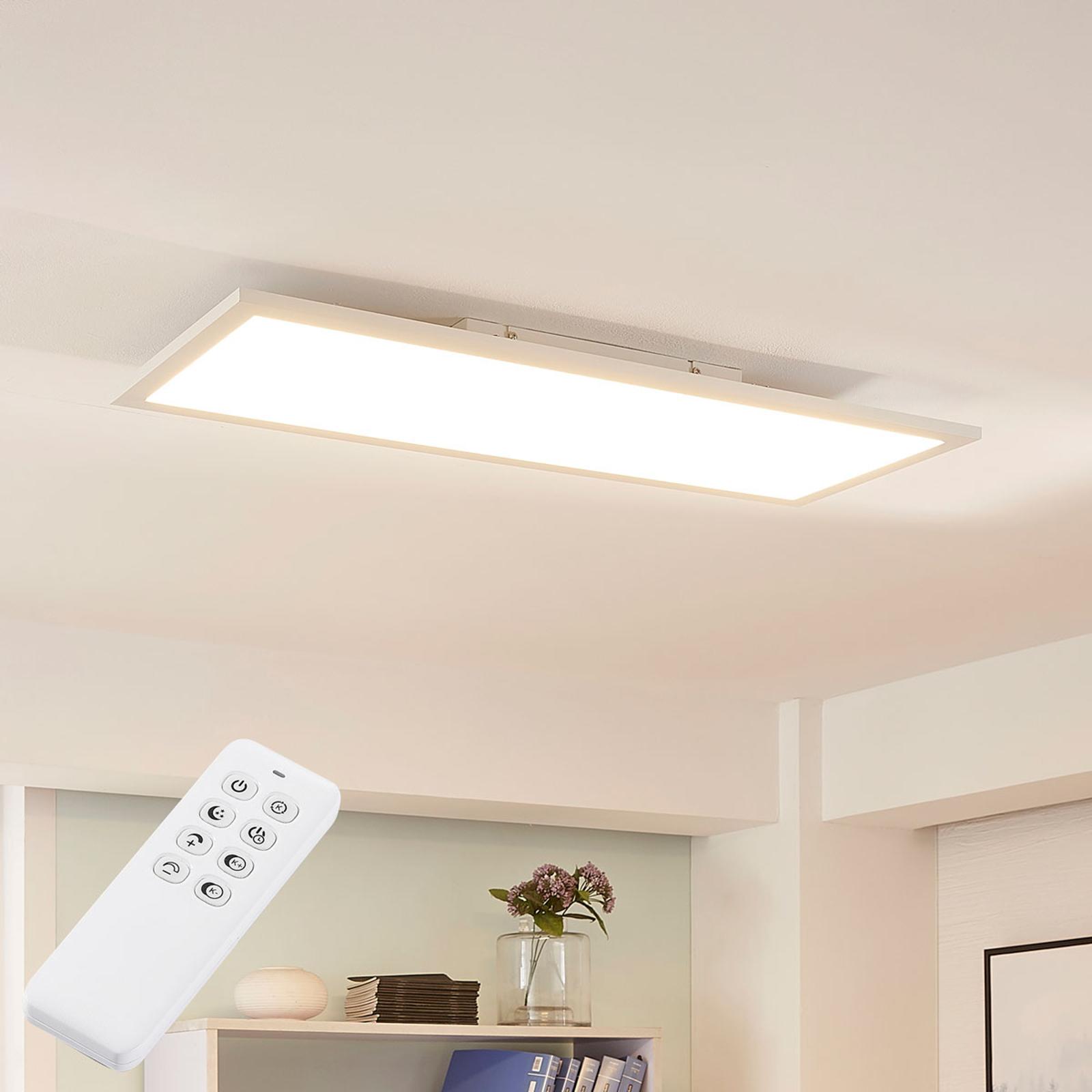 Arcchio Lysander-LED-paneeli CCT, 79 cm, valkoinen