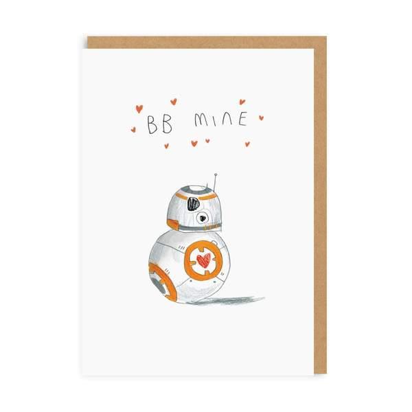BB Mine Greeting Card