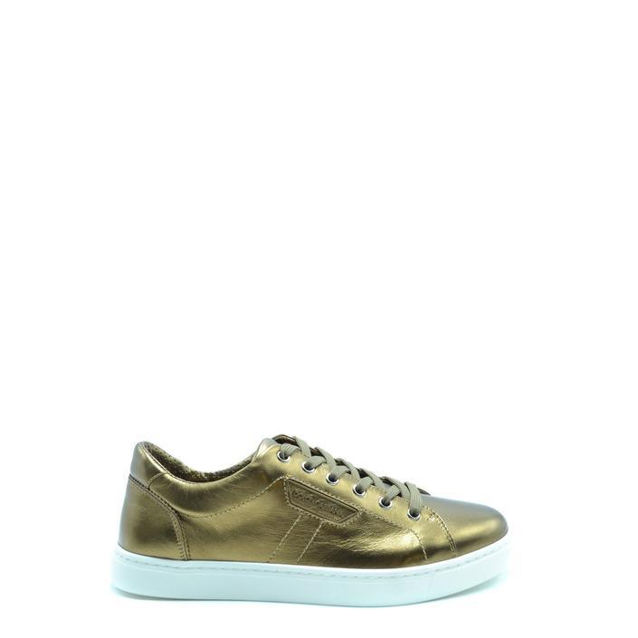 Dolce & Gabbana Men's Trainer Gold 178762 - gold 40