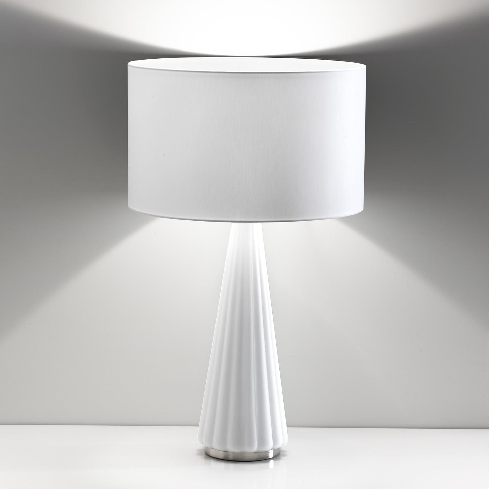 Pöytälamppu Costa Rica valkoinen, valkoinen
