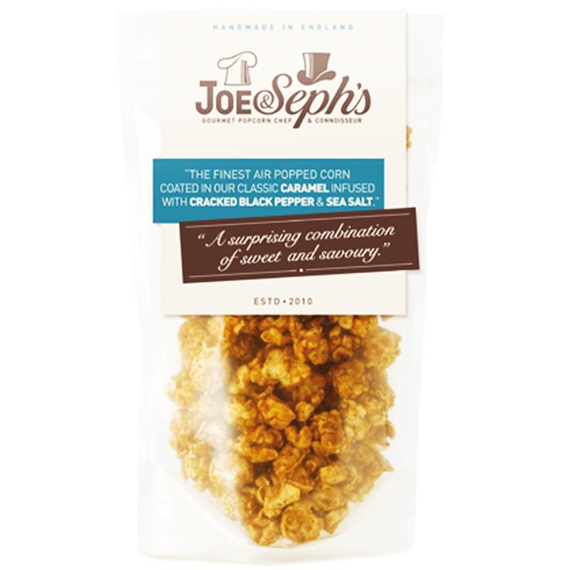 "Popcorn ""Caramel, Black Pepper & Sea Salt"" 80g - 67% rabatt"