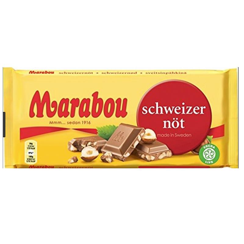 Suklaalevy Sveitsinpähkinä - 45% alennus