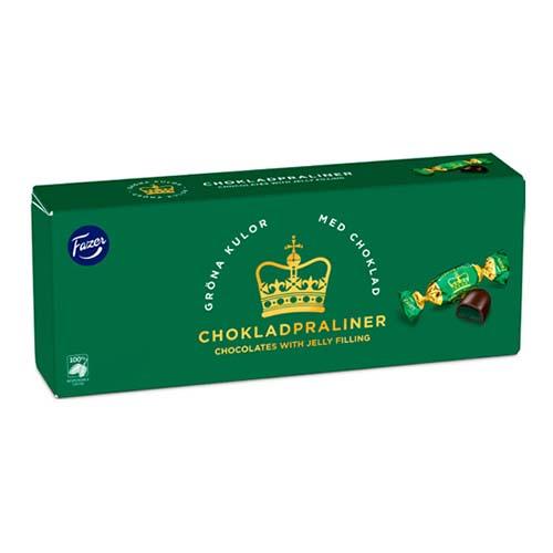 Gröna Kulor Chokladpraliner Chokladask - 250 gram