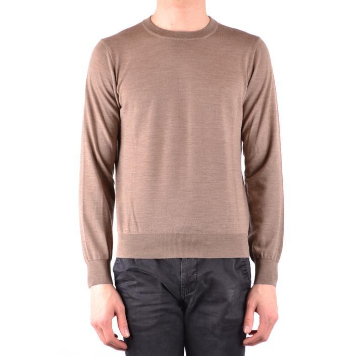 Brunello Cucinelli Men's Sweater Brown 161439 - brown 46