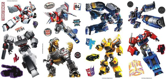 RoomMates Wallstickers Transformers
