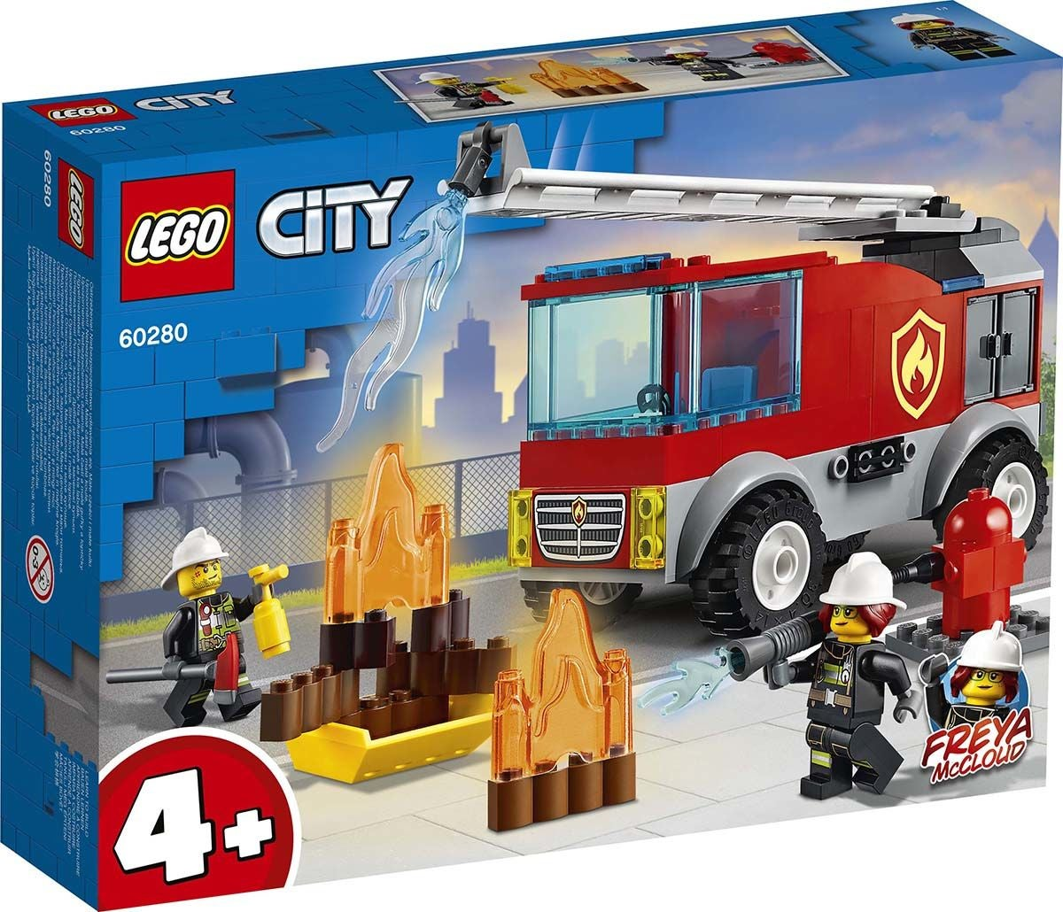 LEGO City Fire 60280 Tikaspaloauto