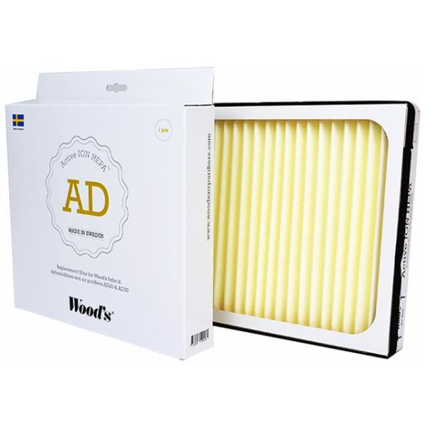 Woods Active ION HEPA-filter for AD20 / AD30