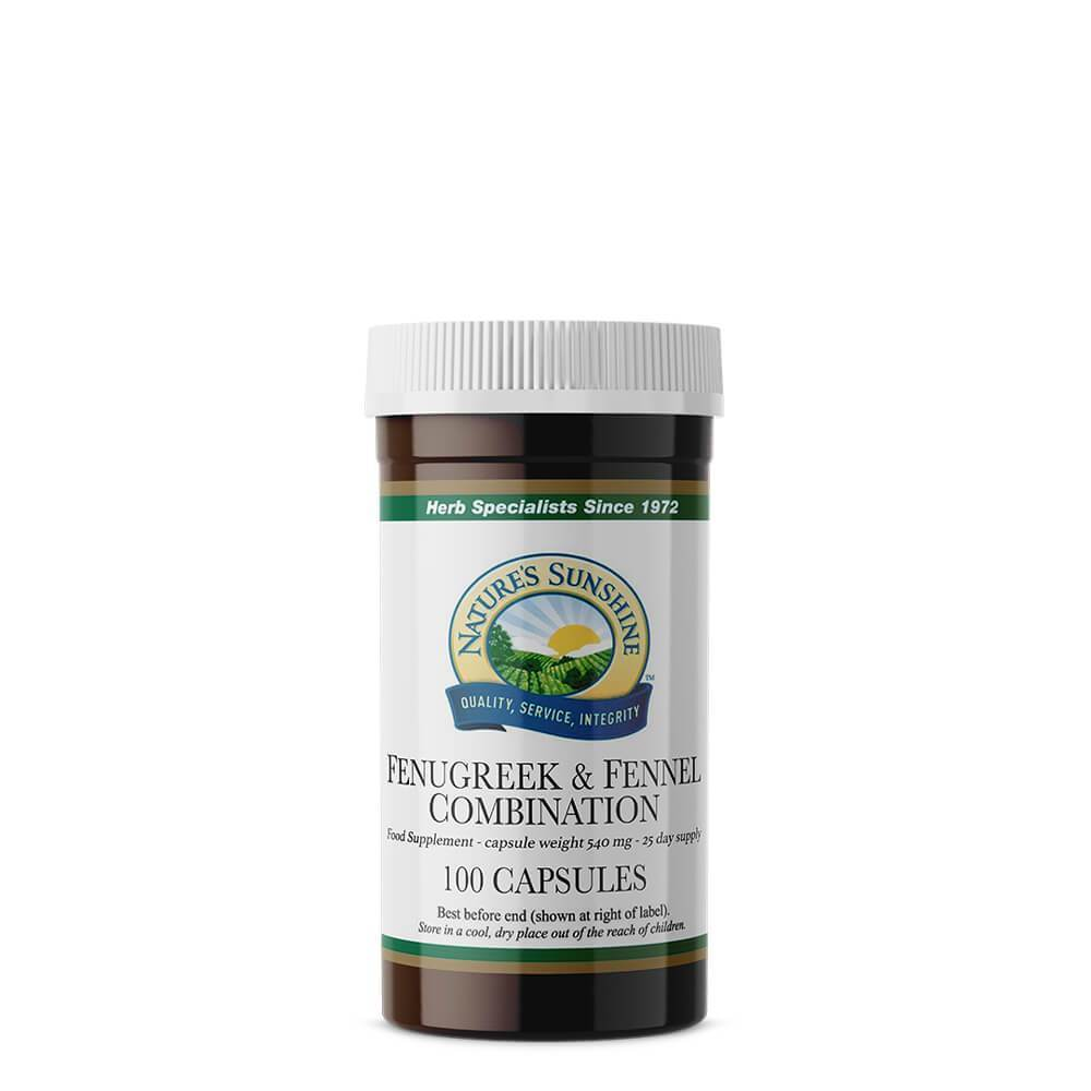 Fenugreek and Fennel Combination (100 Capsules)