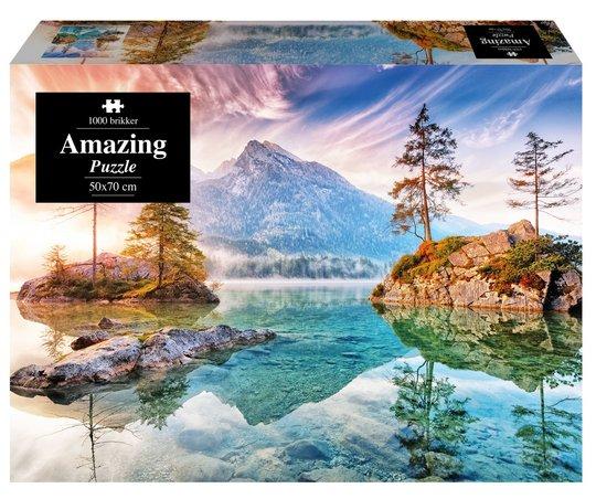 1play Amazing Dream Lake Puslespill, 1000 Biter