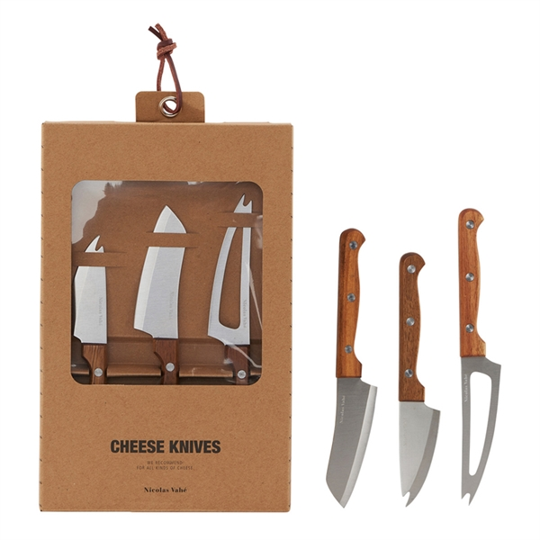 Nicolas Vahé - Cheese Knife Set (Nvzld090)