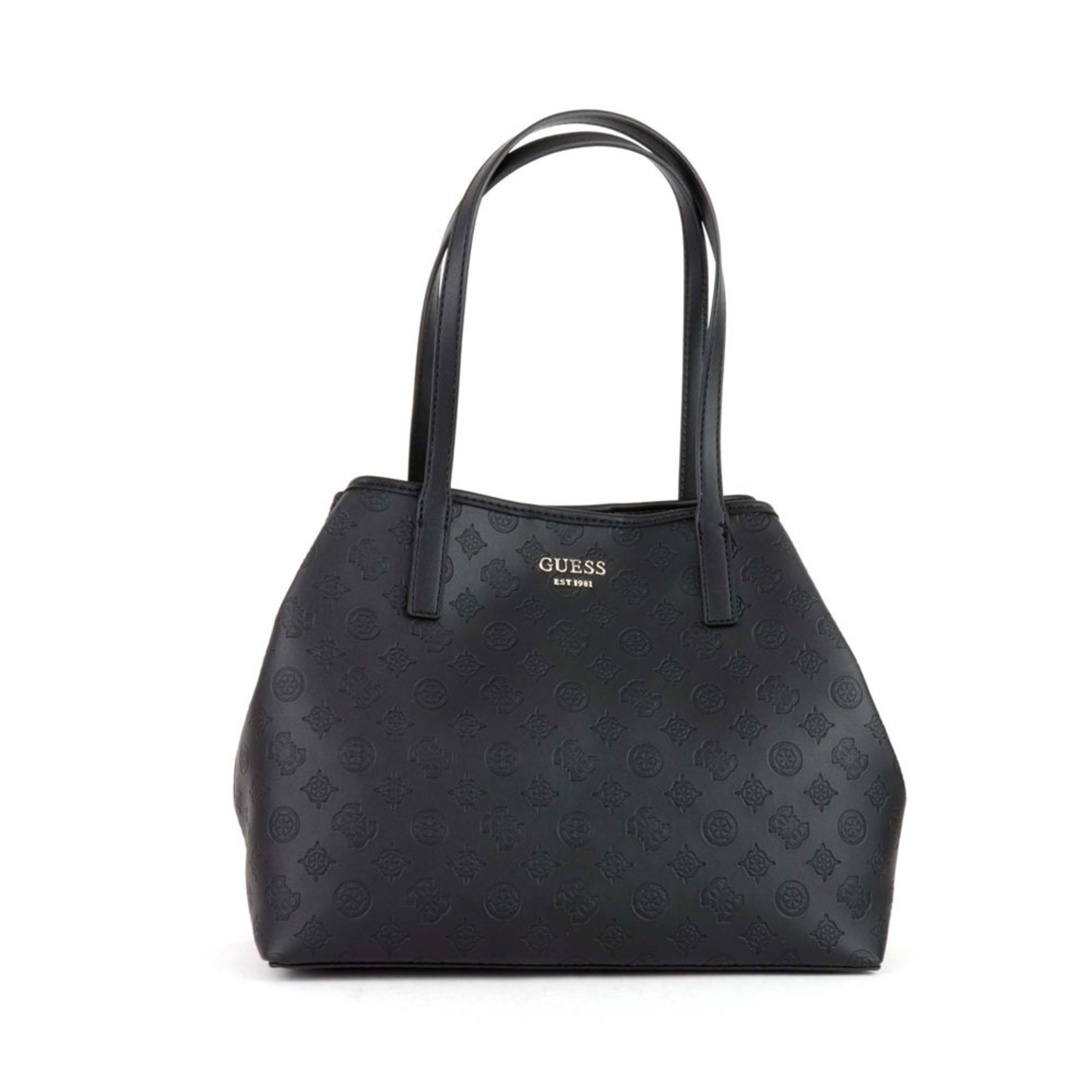 Vikky Logo Print Shopper Bag