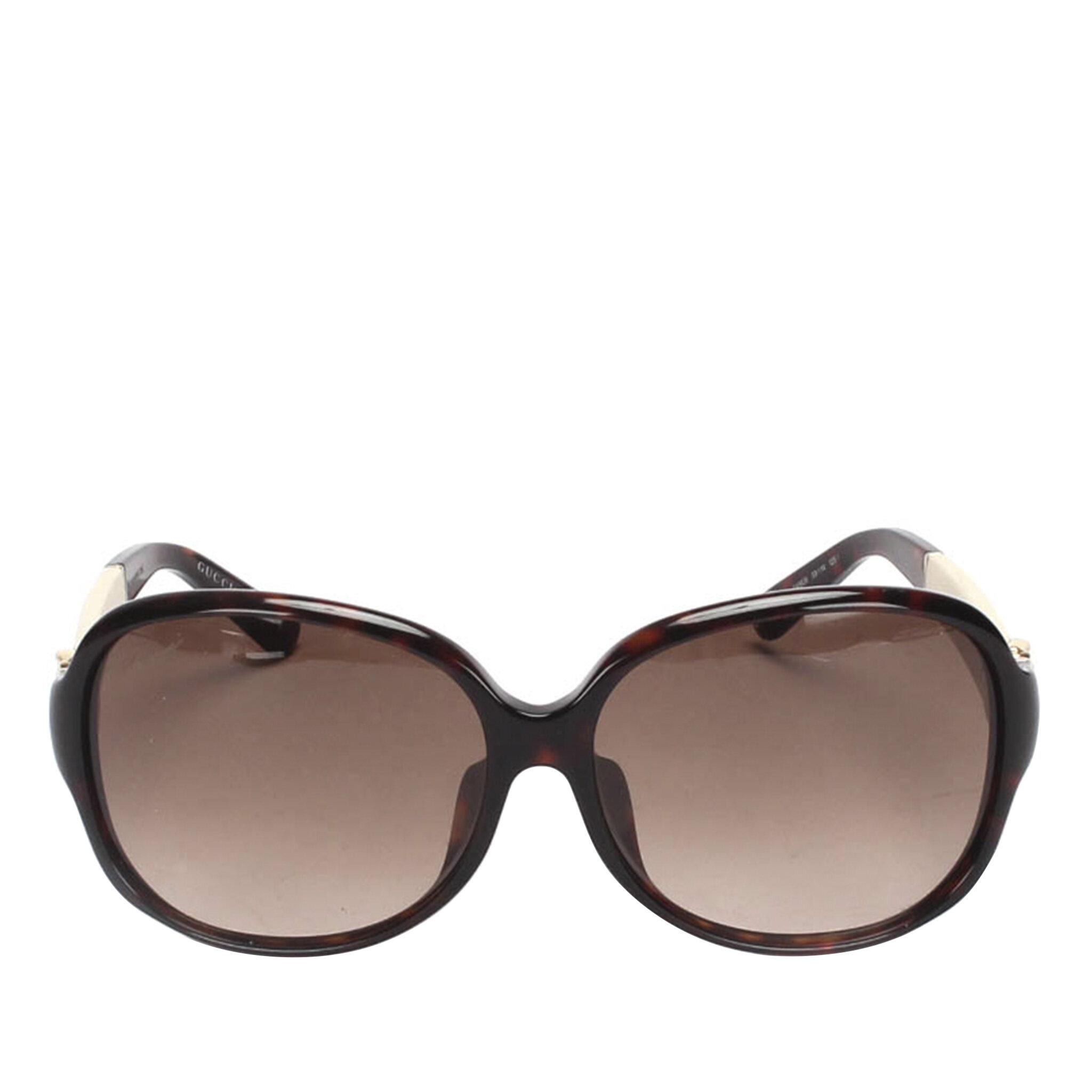 Gucci Round Tinted Sunglasses, ONESIZE