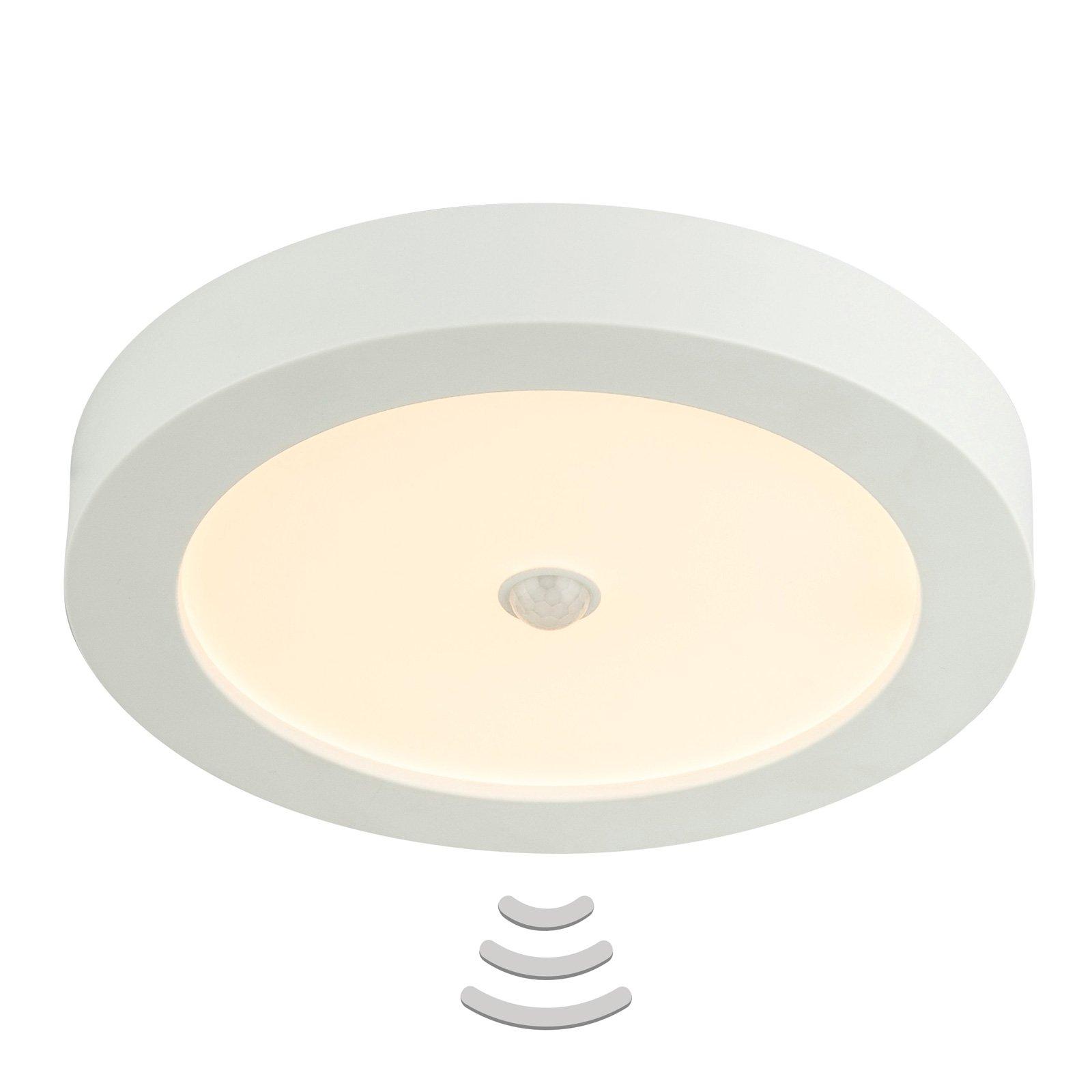 LED-taklampe Paula 18 W med bevegelsessensor