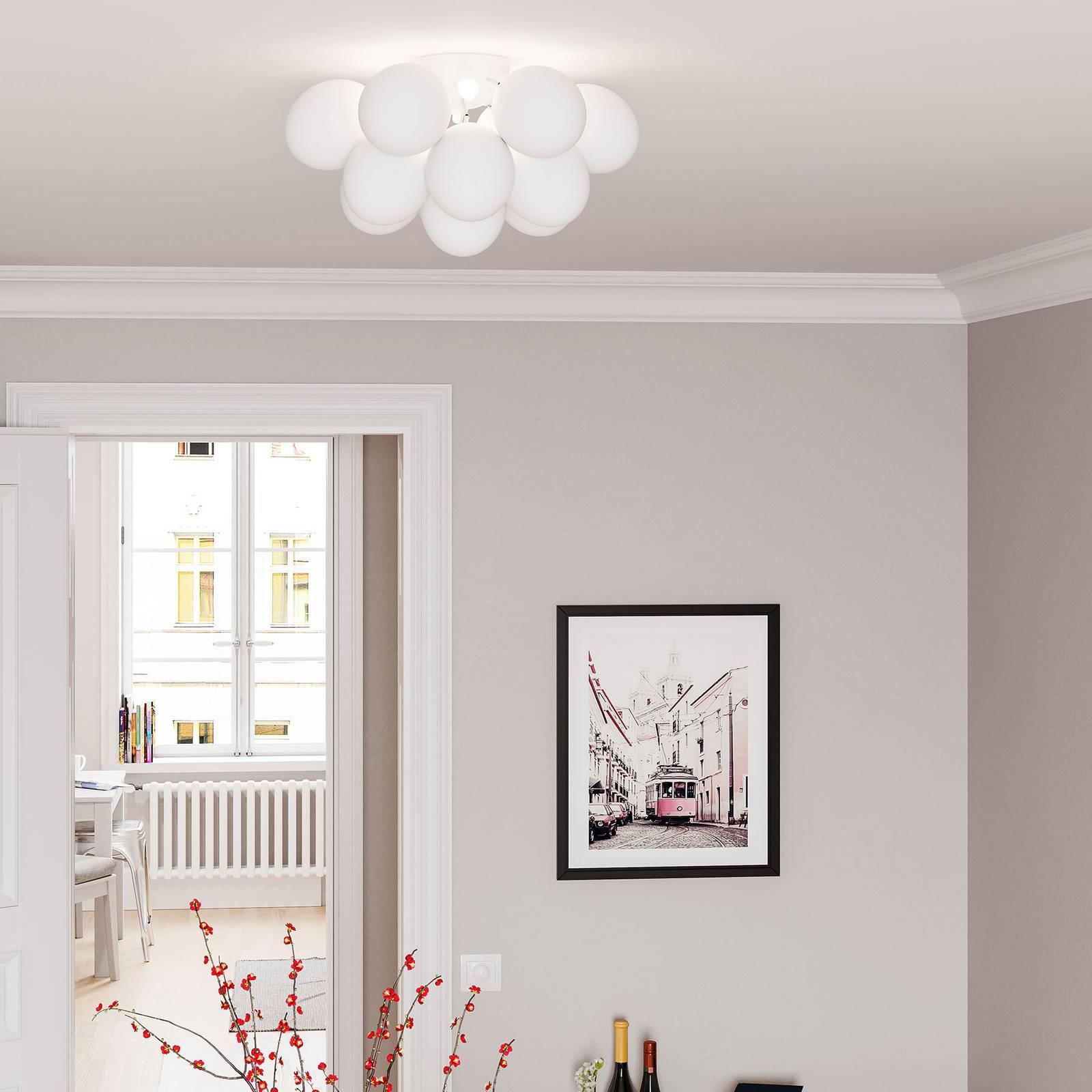 By Rydéns Gross taklampe, hvit matt, 30 cm