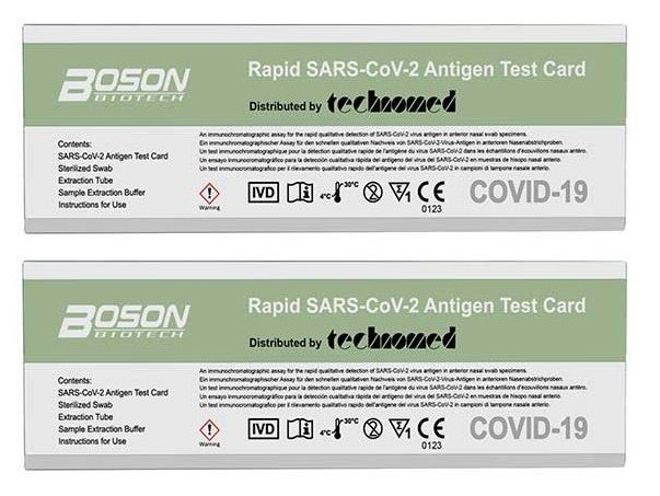 Boson - 2 x Rapid SARS-CoV-2 Antigen Test Card