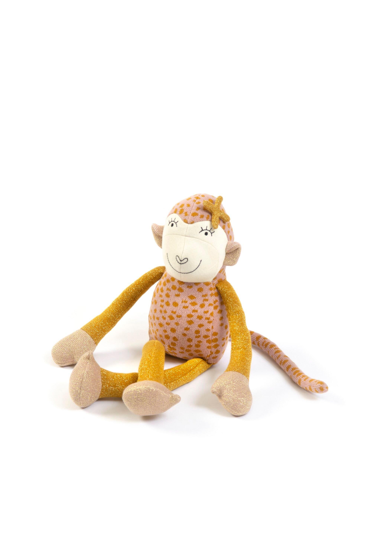 Smallstuff - Monkey Freja - Powder/ Hazel