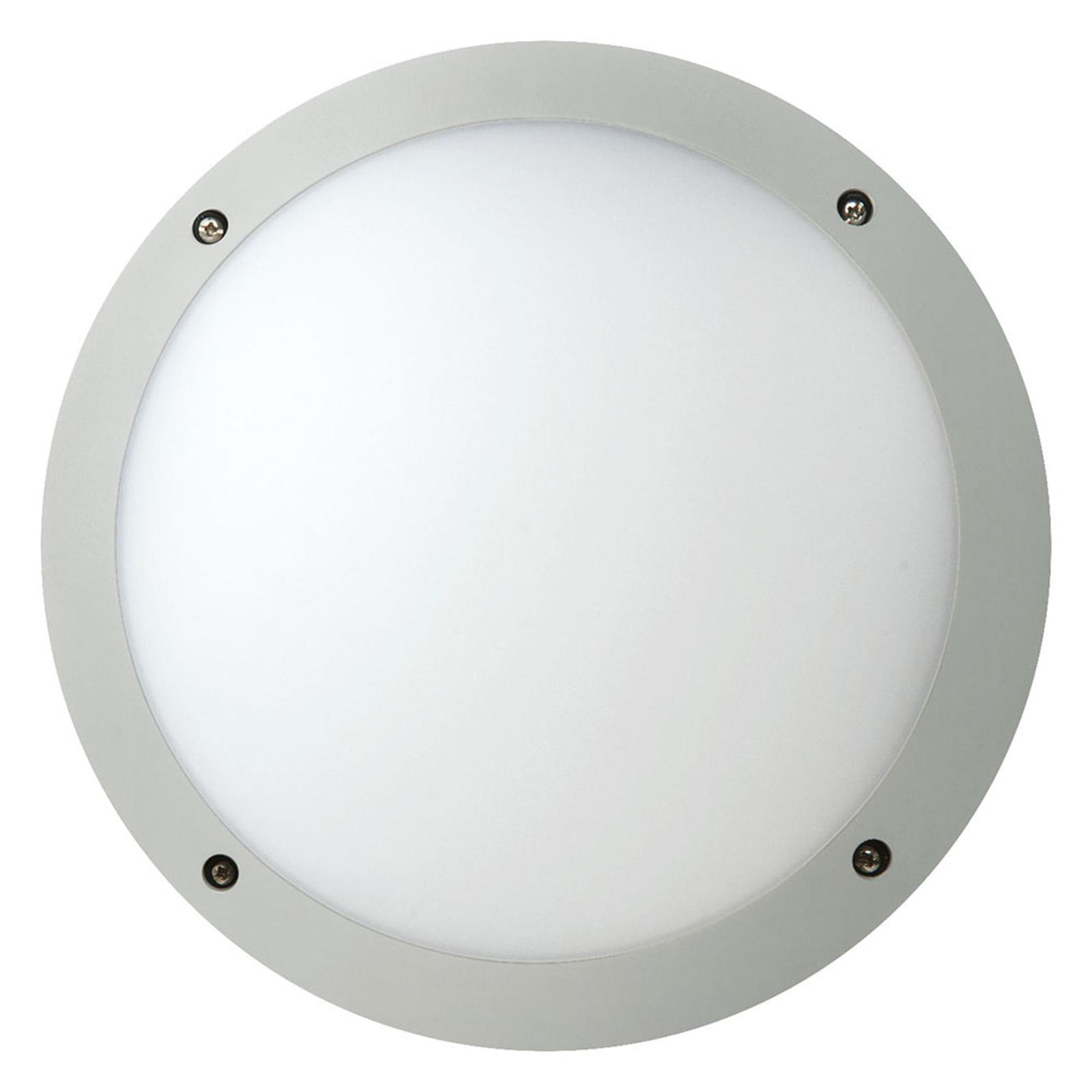 Megaman Fonda+ -LED-seinävalo MultiLumen, hopea