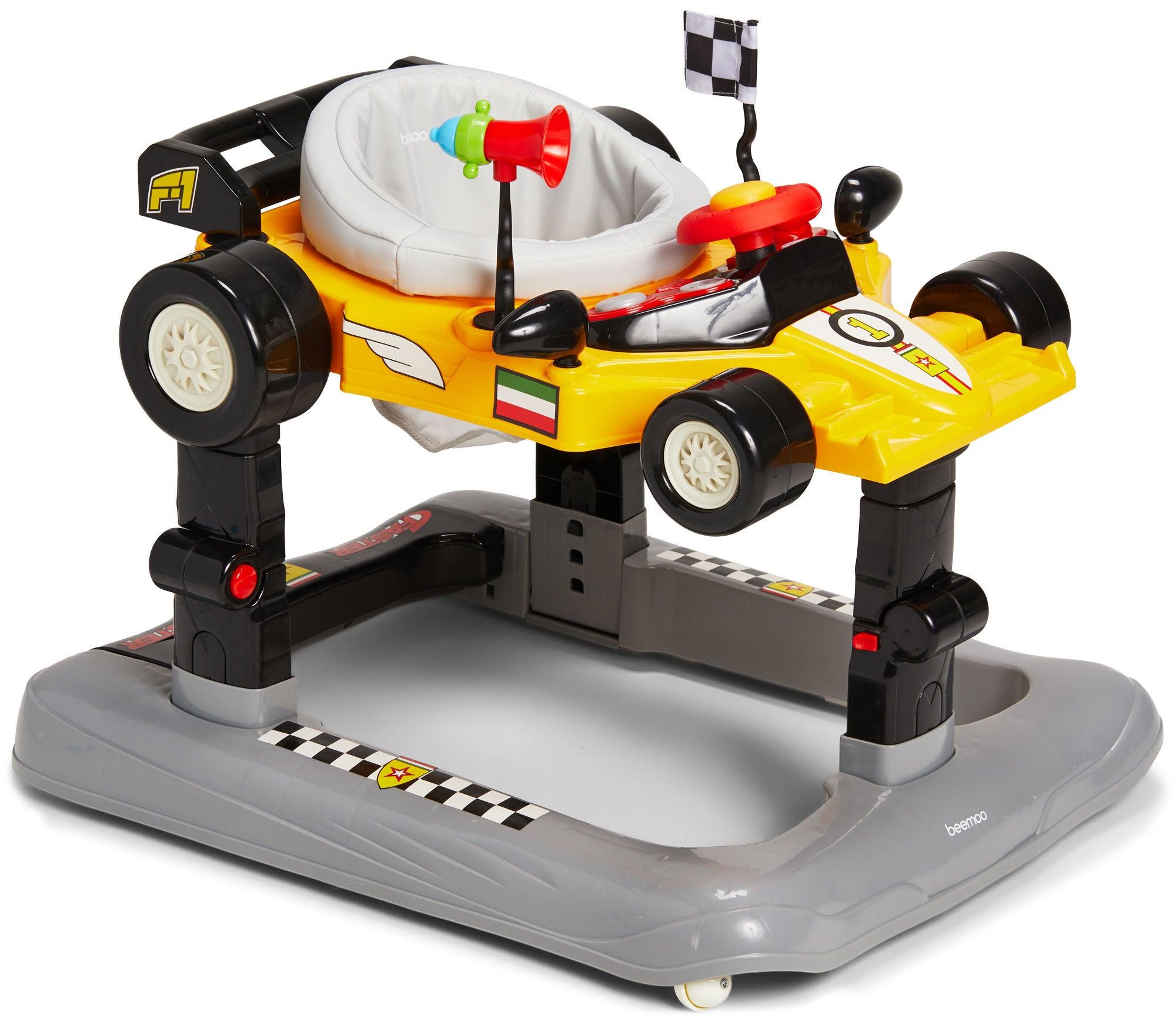 Beemoo 4-in-1 Kävelytuoli, Yellow
