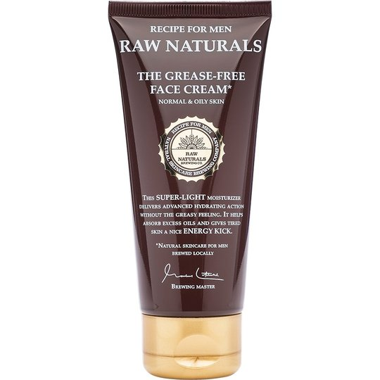 Raw Naturals The Grease-Free Face Cream, 100 ml Raw Naturals by Recipe for Men Kasvovoiteet