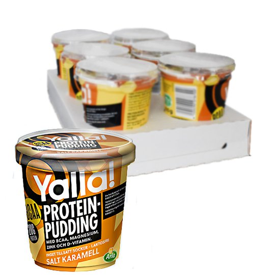 Proteinpudding Salt Karamell 6-pack - 39% rabatt
