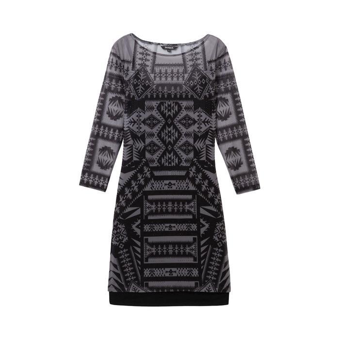 Desigual Women's Dress Black 169419 - black S