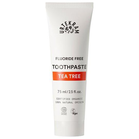 Urtekram Nordic Beauty Tea Tree Toothpaste, 75 ml